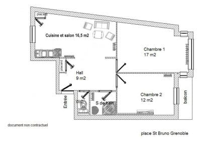 Plan colocation st. Bruno