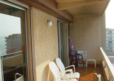 Balcon appartement Ajaccio