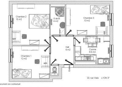 Plan rue Viala